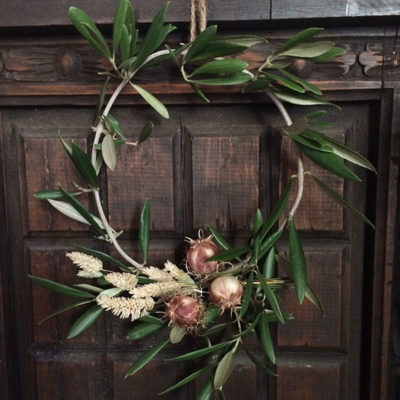 wreath of olive leaves